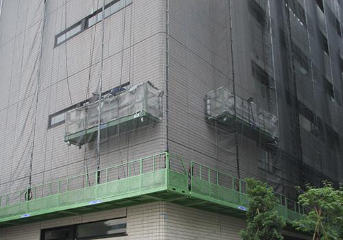 シーエスのリニューアル事業部 建物の外壁を補修します